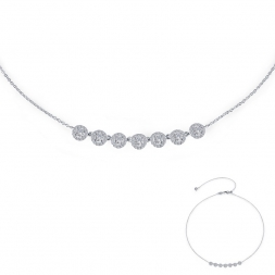Silver Necklace by Lafonn Jewelry